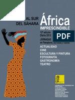 """Jornadas """"Al Sur del Sáhara. África Imprescindible"""" Programa 2013"""
