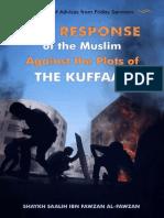 The Response of the Muslim Against the Plots of the Kuffaar - Shaykh Salih Al-Fawzaan