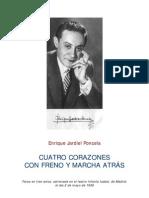 Jardiel Poncela, Enrique - Cuatro Corazones Con Freno Y Marcha Atras