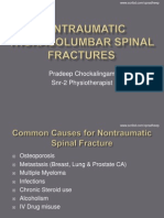 Fracture Spine / Thoracolumbar Spine Fractures