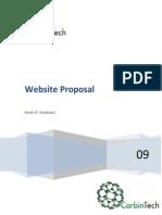 Website Proposal Information