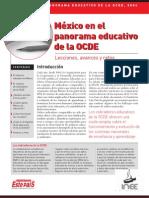 FEP-INEE_Mexico Ante El Panorama Educativo OCDE