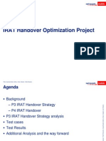 IRAT Handover Optimization Project