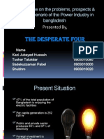 An Overview on the Problems, Prospects of power industry in Banglaesh