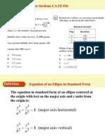Graph an Equation of an Ellipse
