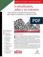 INEE-FEP_Los Estudiantes Las Escuelas y Su Entorno