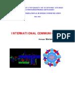 International communication course notes