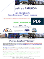 SwapRent (SM) and FARJHO (SM) - New Alternatives for Homeowners and Property Investors V7
