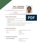 CV - GUERRA