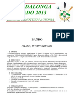 Bando Vogadalonga Grado 2013
