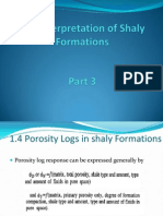 Log Interpretation of Shaly Formations Part 3