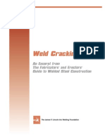 NDT - Weld Cracking
