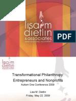 Transformational Philanthropy