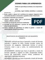 Reglamento Estudiantil y Comite de Evaluacion