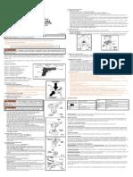 Crosman 1008 User Manual - C1008-OM3