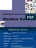 struktur kursus hhhn1013 2009/2010
