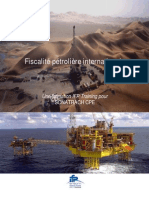 Fiscalite Petroliere Internationale