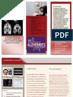 brochure alzheimers
