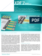 Xdr2 Memory Architecture