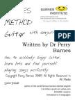 Barnes Method @ Guitar, Singing and Song Writing