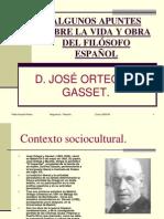 D. JOSÉ ORTEGA Y GASSET.