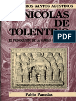 Panedas, Pablo - Nicolas de Tolentino, El Primogenito de La Familia Agustiniana