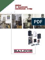 Baldor DC Controls Fractional - 5 HP