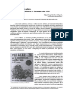 Villalar hace 30 años. El discurso regionalista en la Salamanca de 1978.