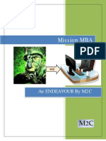 Mission MBA