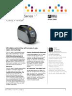 Zebra ZXP Series 1 Brochure