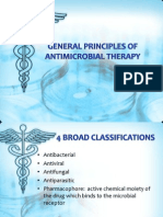 General Principles of Antimicrobial Therapy lecture
