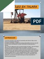 Trabajo de Petroleo en Talaracon Minaya