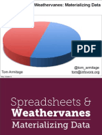 Spreadsheets and Weathervanes - design with data with Tom Armitage