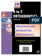 A to z Orthodontics Vol 9 Preventive and Interceptive Orthodontics (1)