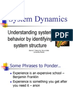 System Dynamics Introduction