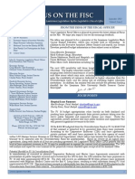 Focus on the Fisc - August 2013