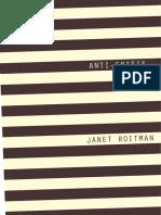 Anti-Crisis by Janet Roitman