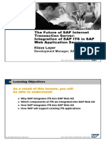 The Future of SAP ITS