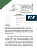 FICHA TÉCNICA ACTUAL Nº 12 PRÁCTICA IV 29 NOVIEMBRE 2012