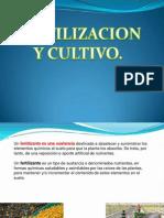 Fertilizacion y Cultivos 2013