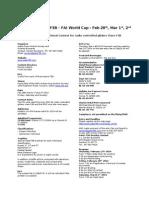2014 Gator f3b Invitation
