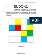 GCR Sudokus Colorear