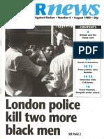 WAR News Number 6 -  August 1989