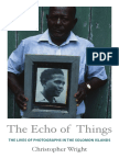 The Echo of Things by Christopher Wright