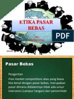 Etika Pasar Bebas