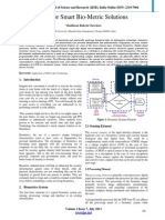 DSP for Smart Bio-Metric Solutions