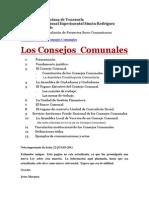 República Bolivariana de Venezuela consejo comunal