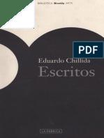 Eduardo Chillida Escritos