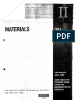 Material Base ASME II-Part a y B