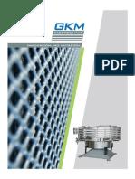 SOCMIN Tamices para la industria GKM Siebtechnik
